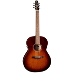 Seagull Entourage Folk Quantum I Electronics With Tuner Solid Spruce Top Burnt Umber 041886