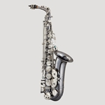 Antigua PowerBell Professional Alto Saxophone Black Nickel Classic Nickel AS4248BC
