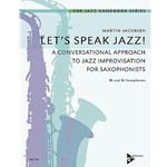 Let's Speak Jazz! for Bb & Eb Saxophones, Martin Jacobsen