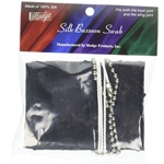 Hodge Bassoon Swab, Black Silk  BB1-HODGE