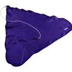 Hodge Clarinet Swab, Purple Silk  CBP