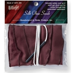 Hodge Oboe Burgundy Silk Swab OB3