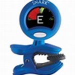 SNARK Clip-on Chromatc Guitar Tuner, Blue SN1X