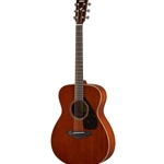 Yamaha Small Body Folk Guitar Solid Mahogany Top Back and Sides FS850