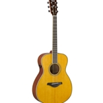 Yamaha FS TransAcoustic Small Body, Solid Spruce Top, Vintage Tint FS-TAVT