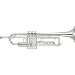 Yamaha YTR-8335IIRS Custom Bb Trumpet with Reversed Leadpipe, Silver Plated