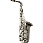 Antigua TS4240BC Pro Powerbell Tenor Sax Black Nickel Body Classic Nickel Keys Night Rider
