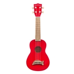 Kala Soprano Dolphin Ukulele, Candy Apple Red MK-SD/CAR