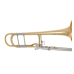 Courtois Intermediate Trombone W/.547 Bore, Open Wrap F-Attachment AC280BO-1-0