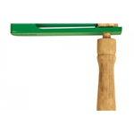 Green Tones Wood Handle Ratchet 3782