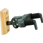 GII AutoGrip Guitar Hanger for Wall Mounting with Wood Base and Short Arm GSP38WB+