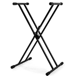 Nomad Double X-Style Keyboard Stand with Lever Adjust NKS-K139