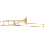 Yamaha Professional XENO Trombone, .547 Bore, Open Wrap F-Attachment, Gold-Brass Bell YSL-882GOR
