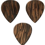 Clayton Exotic Wood Picks, Black, 3 pack EABK/3