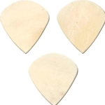 Clayton Exotic Bone Jazz Picks, 3 pack BJJ/3