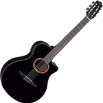 Yamaha NTX Acoustic/Electric Classical Guitar, Black Finish NTX700BL