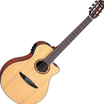 Yamaha NTX Acoustic/Electric Classical Guitar, Natural Finish NTX700