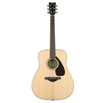 Yamaha Natural Folk Guitar, Solid Top FG800
