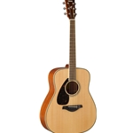 Yamaha FG820L Folk Guitar Natural Finish Left Handed