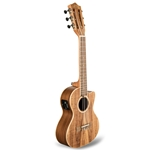 Lanikai Acacia Solid Top 6-String Cutaway Electric Tenor Ukulele W/Bag ACST-6CET