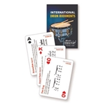 International Drum Rudiments Playing Cards 00-43967