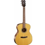 Cort Luce Series Acoustic Guitar OM Body, Natural Satin Finish L100-O-NS