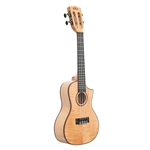 Kala All Solid Flame Maple Concert Cutaway Ukulele KA-ASFM-C-C