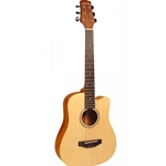 Gold Tone M-Guitar Micro Guitar, Solid Spruce Top, With Electronics and Cutaway, Includes Gig Bag M-GUITAR