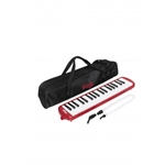 Stagg Red Plastic Melodica w/ 37 Keys and Black Bag MELOSTA37 RD