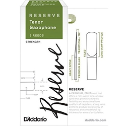 D'Addario Reserve Tenor Saxophone Reeds 3.5 5 Pack DKR0535