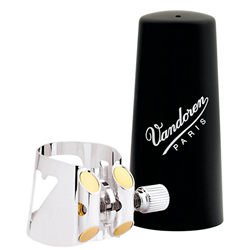 Optimum Bb Clarinet Silver-Plated Ligature & Plastic Cap LC01P