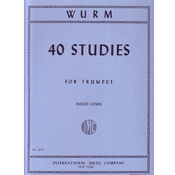 Wurm 40 Studies For Trumpet