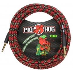 Pig Hog Tartan Plaid 20ft Vintage Series Instrument Cable PCH20PL