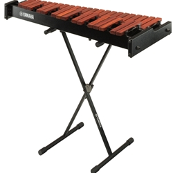 Yamaha Total Percussion 3-Octave Standard Paduk Xylophone With Stand & Bag YX230CSWC