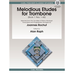Melodious Etudes for Trombone Book 1