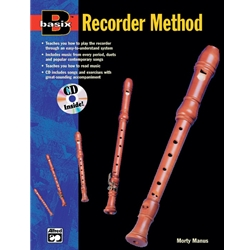 Basix Recorder Method Book and CD