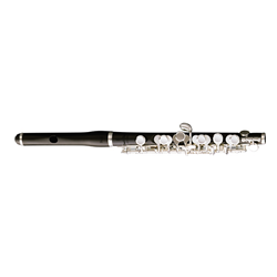 "Pearl Piccolo ""Grenaditte"" Body & Head Silver-Plated Keys Split E Case & Cover PFP105E"