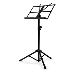 Nomad Music Stand W/ Folding Desk, Folding Legs NBS-1321
