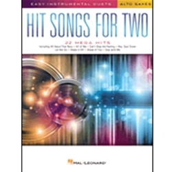 Hit Songs For Two Alto Saxes