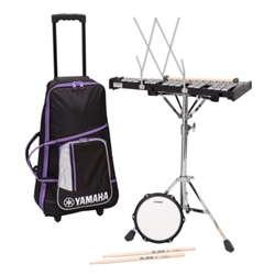 Yamaha Student Bell (Percussion) Kit w/ Attached Rolling Cart SBK-350