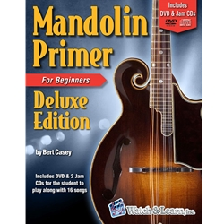 Mandolin Primer Deluxe Edition Book/DVD/Jam CDs