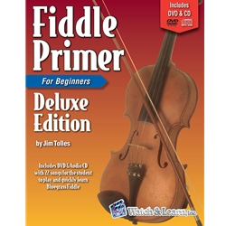 Fiddle Primer Deluxe Edition Book/DVD/CD