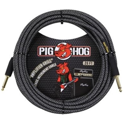"Pig Hog ""Amp Grill"" 20' Vintage-Series Instrument Cable PCH20AG"
