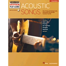 Acoustic Songs, Guitar Play-Along Vol. 3