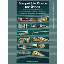 Compatible Duets for Winds - Alto/Bari Saxophone