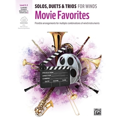 Movie Favorites, Solos Duets Trios, Bb Instruments