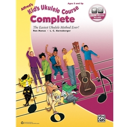 Alfred's Kid's Ukulele Course Complete, Book & Online Audio