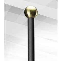 Balter Basics Brass Mallets, Round, Hard BBB102